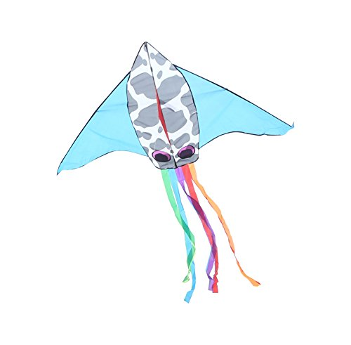 Squid Costume For Adults (RoarSoar Uttarayan Squid Child or Adult Easy to Fly Kite, 71