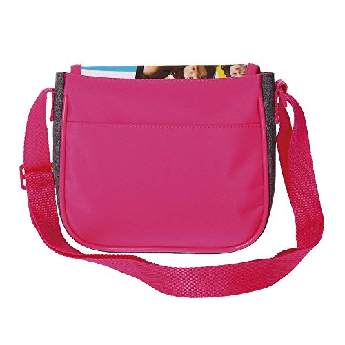 Disney Soy Luna Like Borsa Messenger, 17 cm, 1.02 liters, Multicolore (Multicolor)