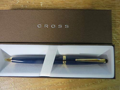 Cross Indigo Lacquer and 23k Gold Solo Pencil with 0.5MM ()