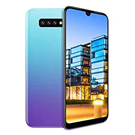 Unlocked Cell Phones, s10pro 3G (WCDMA:850/2100) Android Smartphone, 6.26inch IPS Full-Screen, 3G Dual SIM,2GB RAM 16GB ROM, Android 7.0 MTK6580 Quad Core,3800mAh(Apply to T-Mobile) Purple
