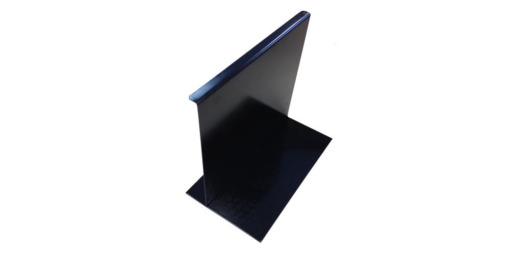 Magnetic File Dividers/Followers (9-9/16'' High 12'' Wide 5'' Base, Black) by File Bar Factory