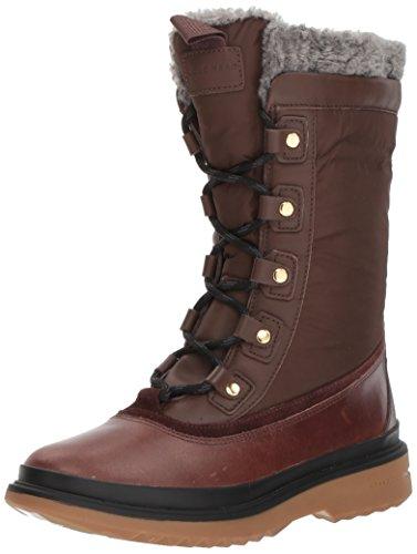Cole Haan Kvinna Millbridge Snörning Boot Wp Kastanj Läder