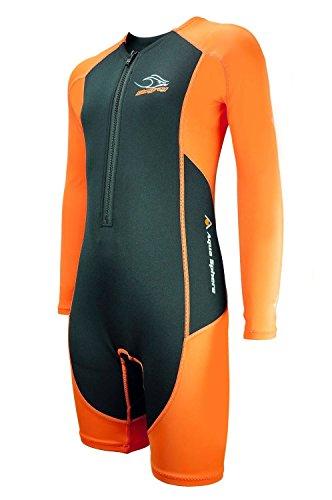 - Aqua Sphere Stingray Core Warmer Long Sleeve Wetsuit, Orange, 8