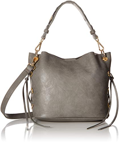 Betsey Johnson Wild Bets Crossbody, Grey (Handbags By Betsey Johnson)