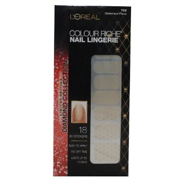 Loreal Limited Edition Diamond Collection Nail Lingerie - 700 Statement Piece