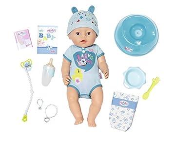 436734ec7 Baby Born 824375 Boy Soft Touch Bienfaisants poupée  Amazon.fr  Jeux ...