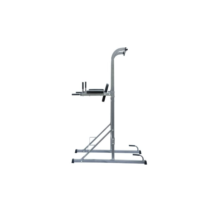 Soozier Fitness Power Tower w/Dip Station & Pull Up Bar