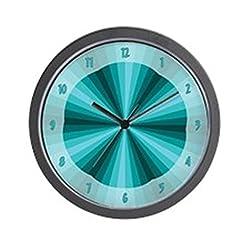CafePress - Aqua Illusion Wall Clock - Unique Decorative 10 Wall Clock