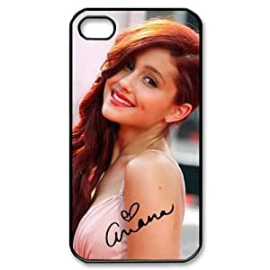 Customize Famous Singer Ariana Grande Back Case for iphone 4 4S JN4S-1946