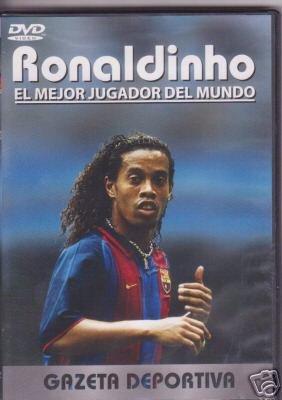 RONALDINHO EL MEJOR JUGADOR DEL MUNDO (Ronaldinho Soccer Dvd)