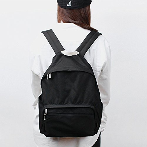 Korean School Bag Bubilian Brand Backpack BTBB Bag Street Beige Travel Black qwxwUTEg