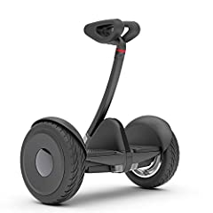 Enjoy the ride in style! The Ninebot S is lightweight, self-balancing personal transportation designed both for kids and adults. Like its predecessor, the Segway miniPRO, the Ninebot S allows for precise and smooth maneuvering - steer by ligh...
