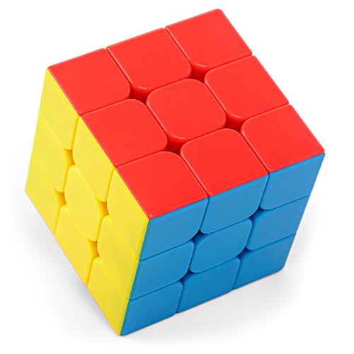 Solve Color Cube - Tanbi Puzzles High Speed Puzzle Cube RC100 3x3 Stickerless (3 by 3) Magic