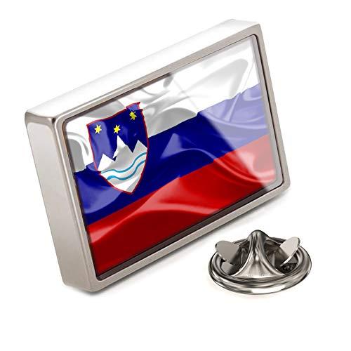 - NEONBLOND Lapel Pin Slovenia 3D Flag