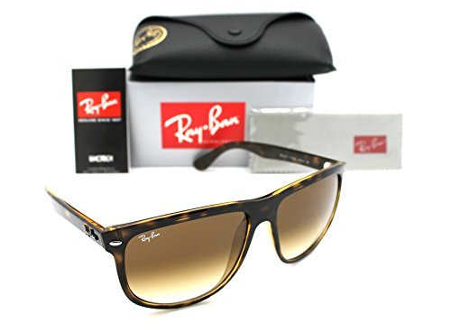 Ray-Ban Highstreet RB 4147 Light Havana Frame Brown Gradient Rb 4147 710/51 - Rb4147 Size