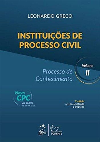 Instituições de Processo Civil: Processo de Conhecimento (Volume 2)