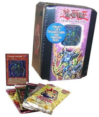 Yugioh Card Game - 2005 Tin Set Exarion Universe - 5P