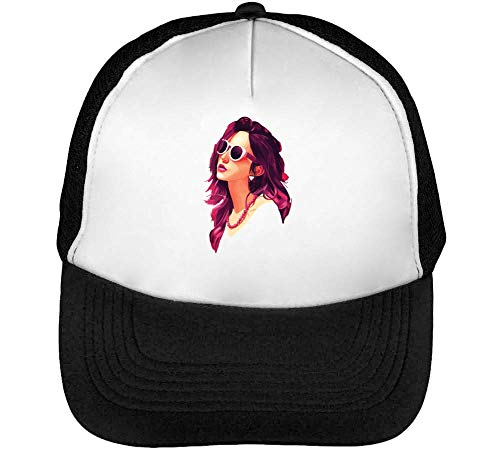 Glasses Blanco Beisbol Hombre Sun Negro Gorras Lady Snapback AwqS85xH