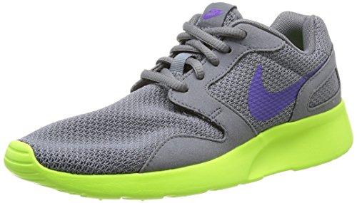 Nike Kvinners Kaishi Løpesko Grå Drue Volt Kul Grå / Hyper Drue-volt