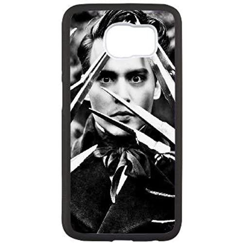 Custom Case Cover for samsung galaxy S7 Johnny Depp image Sales