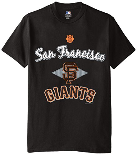 MLB San Francisco Giants Men's 58T Tee, Black, - Mens Giants San Shorts Francisco