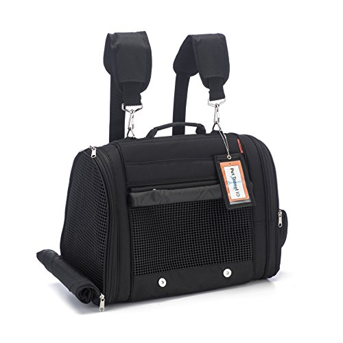 Prefer Pets Travel Gear 358BK Hideaway Duffle Pet Carrier, ()