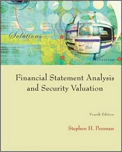 Amazon.Com: Financial Statement Analysis And Security Valuation
