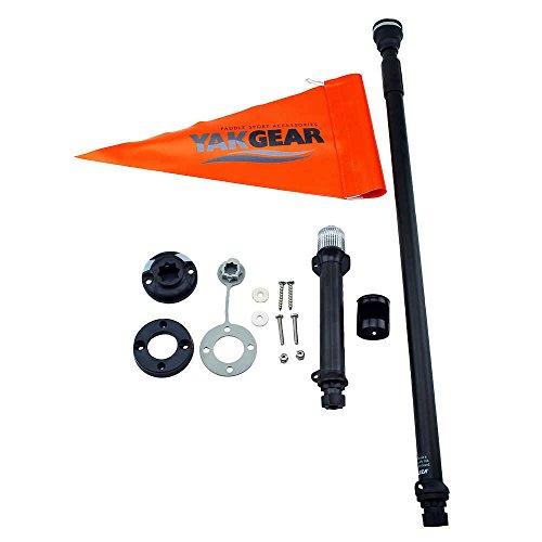 RAILBLAZA Kayak Visibility Kit Black/Orange One Size by Railblaza