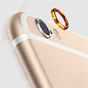 Mobile Phone Camera Metal Ring for IPhone 6 Plus(Assorted Colors) , Silver