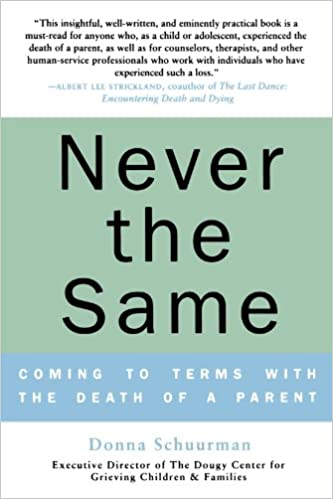 Never the Same: Coming to Terms with the Death of a Parent: Donna ...