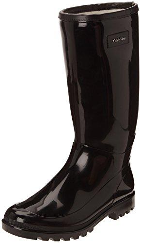 Calvin Klein Abrianna, Bottes de pluie femme Noir (Bwy)