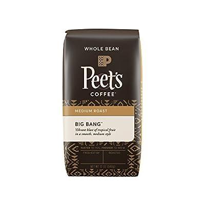 Peet's Coffee Big Bang Whole Bean Medium Roast Bag, 12 Ounce