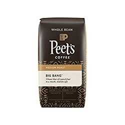 Image of the product Peets Coffee, Big Bang, Medium Roast, Whole Bean  that is listed on the catalogue brand of Peet's Coffee. Scored with a 3.0 over 5.
