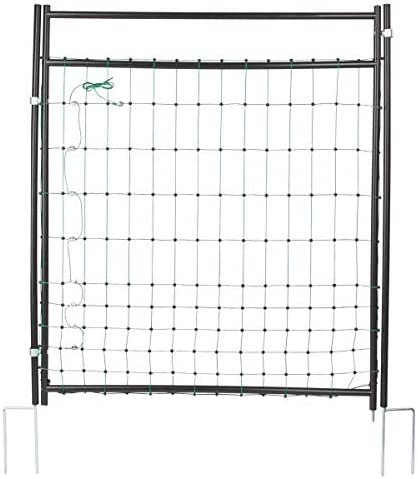 Agrarzone Tor für Weidezaunnetz | Weidezaun Tor Elektrozaun-Netze 125 cm