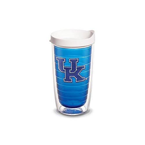Kentucky Sapphire (Tervis Kentucky Univ Emblem 16oz Tumbler Sapphire Inner with White Lid, Clear)