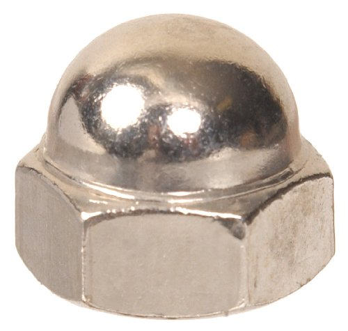 The Hillman Group The Hillman Group 859 Acorn Nut Nickel Finish 10-24 In. 14-Pack
