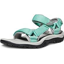 AT-W111-EGN_Women 7 B(M) Atika Women's Maya Trail Outdoor Water Shoes Sport Sandals W111 (True to Size)