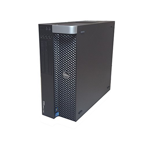 Dell Precision T5600 Desktop Workstation Intel Xeon 16 Core 2.6GHz 64GB RAM 240GB SSD + 2TB HD NVIDIA Quadro 5000 Graphics Windows 10 Pro (Nvidia Workstation Cards)
