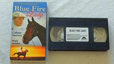 Down Fire Lady VHS Movie - Sterling Entertainment 2004 - A USED Play-Screened VHS Movie Graded 9.0 - Cathryn Harrison and Mark Holden