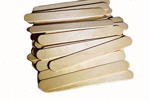 "Perfect Stix Wooden Novelty Wide Ice Cream Stick, 4-1/2"" ..."