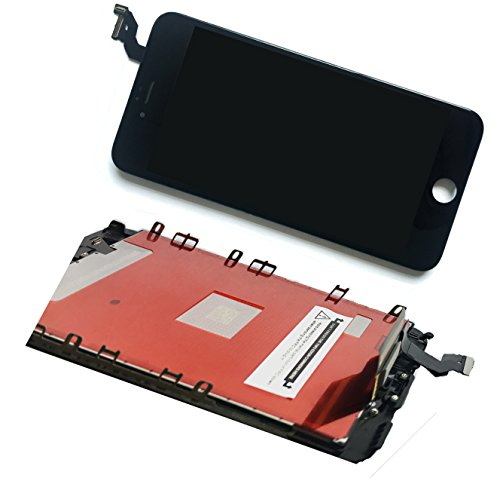 For Iphone 6s plus (5.5 inch) (A1634, A1687, A1699) screen replacement LCD screen digitizer Assembly Touch screen front glass black