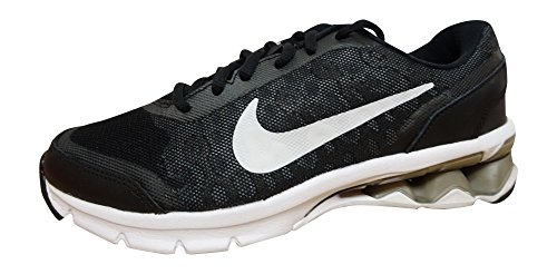 NIKE Womens Reax Run 10 Running Trainers 744414 Sneakers Shoes (US 8.5, Black White Cool Grey (Nike Reax Run)