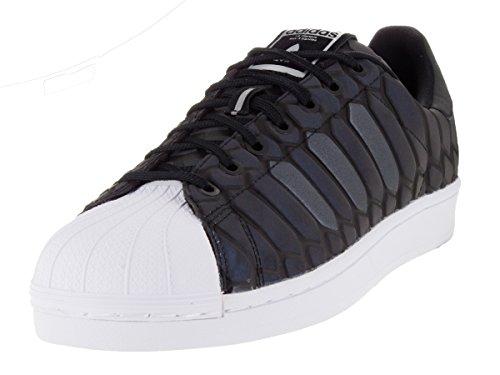 Adidas Mens Superstar Xeno Sneaker Riflettente Nero - Calzature / Sneakers 9.5