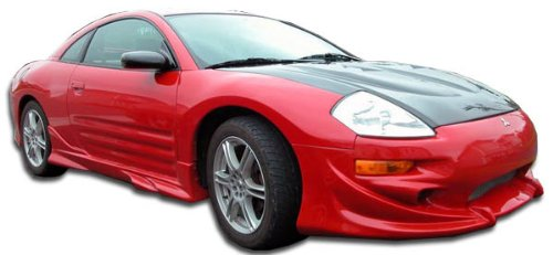 Duraflex ED-XVN-152 Xplosion Side Skirts Rocker Panels - 2 Piece Body Kit - Compatible For Mitsubishi Eclipse 2000-2005