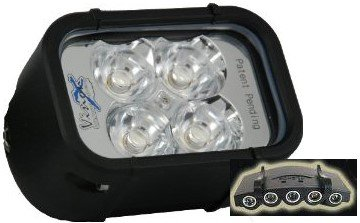 "Vision X XIL-40 XMITTER 4"" Euro Beam LED Light Bar WITH FREE LED CAP LIGHT"