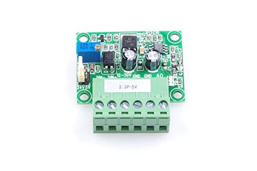 KNACRO 3.3V 0-100% PWM To 0-5V Conversion Module Digital to Analog Module PLC Industrial Interface Conversion Module