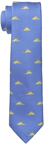 Wembley Big Boys Dinosaur Novelty Tie, Blue, One (Dinosaur Tie)