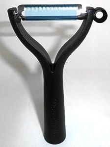 TUPPERWARE D119 Universalschäler Schäler schwarz Sparschäler Spargel