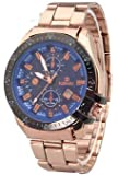 Fake Two Laps Calendar Stainless Steel Quartz Watch - Best Reviews Guide
