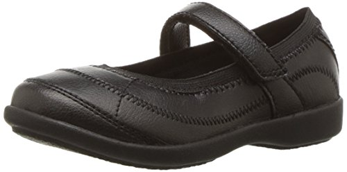 Hush Puppies Reese Mary Jane (Toddler/Little Kid/Big Kid), Black, 6 W US Big ()
